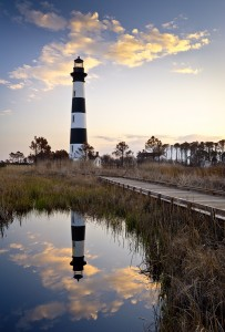 Bodie Island Lighthouse Cape Hatteras National Seashore Outer Ba