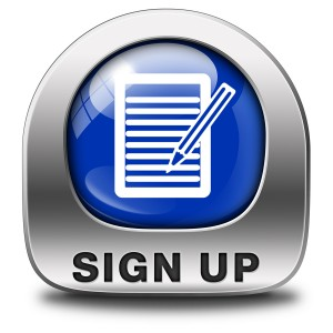 sign up or apply now blue icon and subscribe here for membership